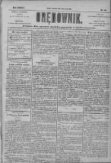 Orędownik: pismo dla spraw politycznych i społecznych 1904.03.17 R.34 Nr63