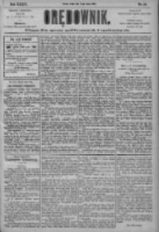Orędownik: pismo dla spraw politycznych i społecznych 1904.03.23 R.34 Nr68