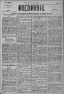 Orędownik: pismo dla spraw politycznych i społecznych 1904.03.27 R.34 Nr71