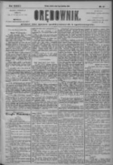Orędownik: pismo dla spraw politycznych i społecznych 1904.04.16 R.34 Nr87