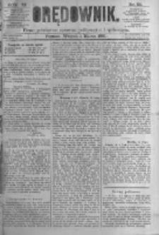 Orędownik: pismo poświęcone sprawom politycznym i spółecznym. 1881.03.01 R.11 nr26