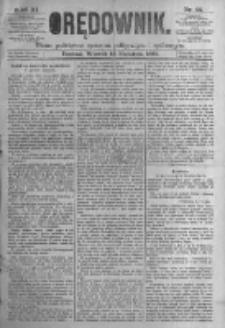 Orędownik: pismo poświęcone sprawom politycznym i spółecznym. 1881.04.12 R.11 nr44