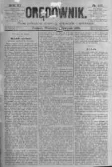 Orędownik: pismo poświęcone sprawom politycznym i spółecznym. 1881.08.23 R.11 nr103