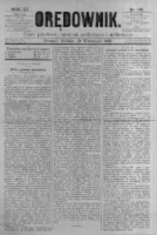 Orędownik: pismo poświęcone sprawom politycznym i spółecznym. 1881.09.10 R.11 nr113