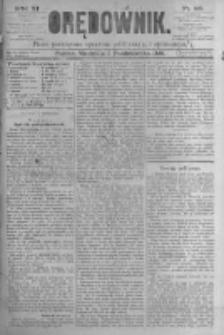 Orędownik: pismo poświęcone sprawom politycznym i spółecznym. 1881.10.02 R.11 nr126