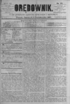 Orędownik: pismo poświęcone sprawom politycznym i spółecznym. 1881.10.06 R.11 nr128