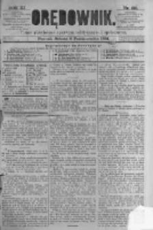 Orędownik: pismo poświęcone sprawom politycznym i spółecznym. 1881.10.08 R.11 nr129