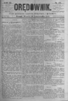 Orędownik: pismo poświęcone sprawom politycznym i spółecznym. 1881.10.18 R.11 nr135
