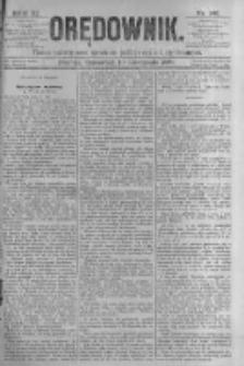 Orędownik: pismo poświęcone sprawom politycznym i spółecznym. 1881.11.10 R.11 nr148