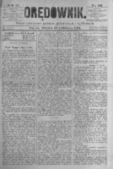 Orędownik: pismo poświęcone sprawom politycznym i spółecznym. 1881.11.29 R.11 nr159