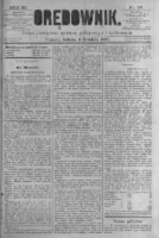 Orędownik: pismo poświęcone sprawom politycznym i spółecznym. 1881.12.03 R.11 nr161