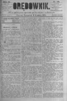 Orędownik: pismo poświęcone sprawom politycznym i spółecznym. 1881.12.08 R.11 nr164