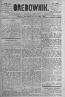 Orędownik: pismo poświęcone sprawom politycznym i spółecznym. 1881.12.11 R.11 nr166
