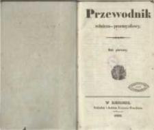 Przewodnik Rolniczo-Przemysłowy. 1836 R.1 No.1