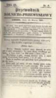 Przewodnik Rolniczo-Przemysłowy. 1837 R.2 Nr6