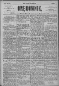 Orędownik: pismo dla spraw politycznych i społecznych 1904.04.22 R.34 Nr92