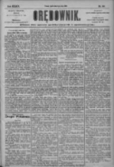 Orędownik: pismo dla spraw politycznych i społecznych 1904.05.06 R.34 Nr104