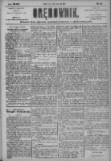 Orędownik: pismo dla spraw politycznych i społecznych 1904.05.14 R.34 Nr110