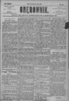 Orędownik: pismo dla spraw politycznych i społecznych 1904.06.08 R.34 Nr129