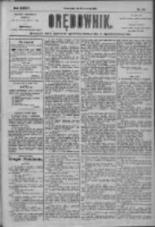 Orędownik: pismo dla spraw politycznych i społecznych 1904.06.15 R.34 Nr135