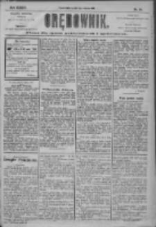 Orędownik: pismo dla spraw politycznych i społecznych 1904.06.19 R.34 Nr139