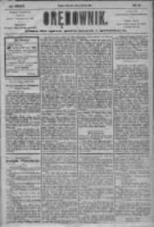 Orędownik: pismo dla spraw politycznych i społecznych 1904.06.22 R.34 Nr141