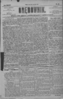 Orędownik: pismo dla spraw politycznych i społecznych 1904.07.05 R.34 Nr151