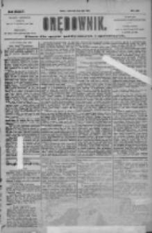 Orędownik: pismo dla spraw politycznych i społecznych 1904.07.06 R.34 Nr152