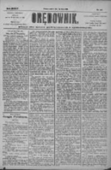 Orędownik: pismo dla spraw politycznych i społecznych 1904.07.07 R.34 Nr153