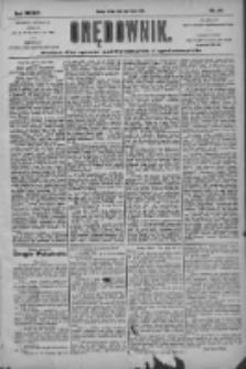 Orędownik: pismo dla spraw politycznych i społecznych 1904.07.13 R.34 Nr158