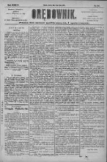 Orędownik: pismo dla spraw politycznych i społecznych 1904.07.16 R.34 Nr161