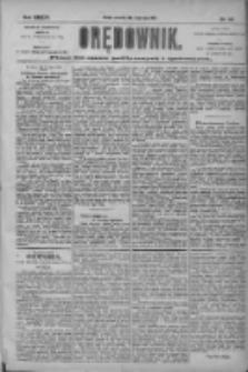 Orędownik: pismo dla spraw politycznych i społecznych 1904.07.21 R.34 Nr165