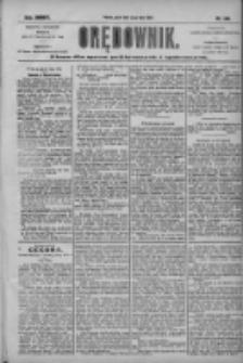 Orędownik: pismo dla spraw politycznych i społecznych 1904.07.22 R.34 Nr166