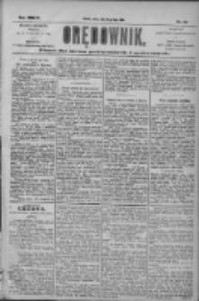 Orędownik: pismo dla spraw politycznych i społecznych 1904.07.23 R.34 Nr167