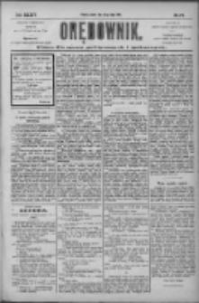 Orędownik: pismo dla spraw politycznych i społecznych 1904.07.29 R.34 Nr172