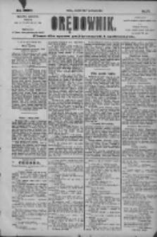 Orędownik: pismo dla spraw politycznych i społecznych 1904.08.04 R.34 Nr177