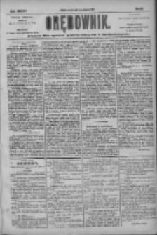 Orędownik: pismo dla spraw politycznych i społecznych 1904.08.09 R.34 Nr181