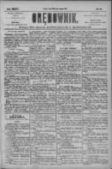 Orędownik: pismo dla spraw politycznych i społecznych 1904.08.10 R.34 Nr182