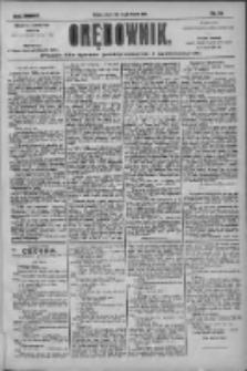 Orędownik: pismo dla spraw politycznych i społecznych 1904.08.12 R.34 Nr184