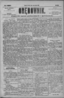 Orędownik: pismo dla spraw politycznych i społecznych 1904.08.14 R.34 Nr186