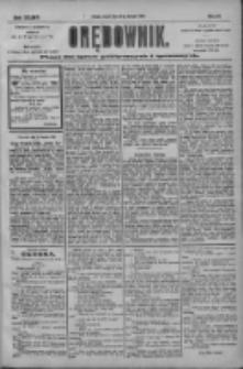 Orędownik: pismo dla spraw politycznych i społecznych 1904.08.26 R.34 Nr195