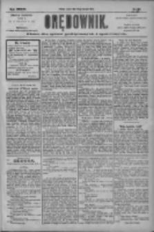Orędownik: pismo dla spraw politycznych i społecznych 1904.08.30 R.34 Nr198