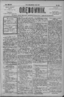 Orędownik: pismo dla spraw politycznych i społecznych 1904.08.31 R.34 Nr199
