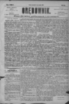 Orędownik: pismo dla spraw politycznych i społecznych 1904.09.07 R.34 Nr205