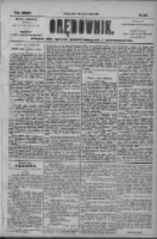 Orędownik: pismo dla spraw politycznych i społecznych 1904.09.10 R.34 Nr207