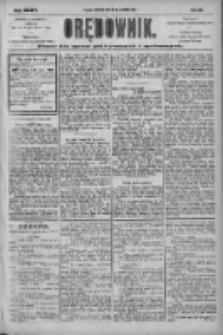 Orędownik: pismo dla spraw politycznych i społecznych 1904.09.25 R.34 Nr220