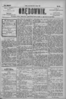 Orędownik: pismo dla spraw politycznych i społecznych 1904.09.27 R.34 Nr221