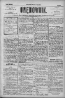 Orędownik: pismo dla spraw politycznych i społecznych 1904.09.28 R.34 Nr222