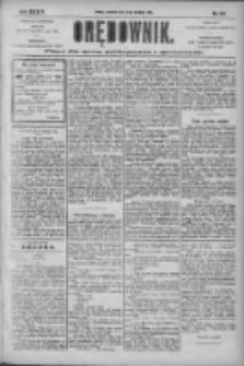 Orędownik: pismo dla spraw politycznych i społecznych 1904.09.29 R.34 Nr223