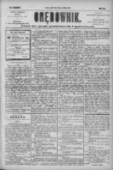 Orędownik: pismo dla spraw politycznych i społecznych 1904.09.30 R.34 Nr224